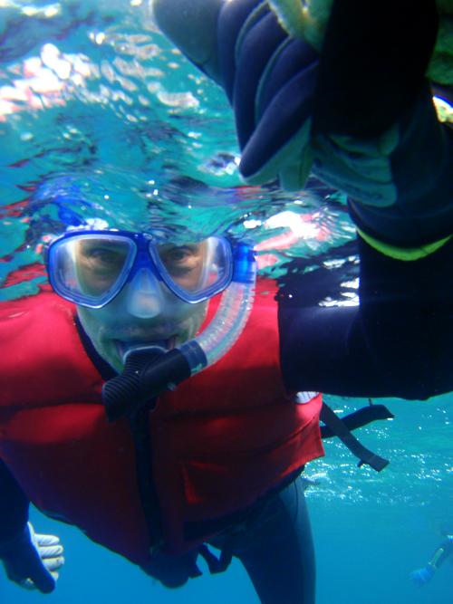 Snorkelling in Okinawa