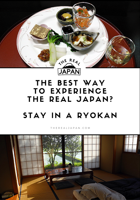 stay in a ryokan, the real japan