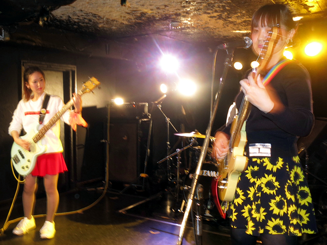 "Valentines at the ""Girls Harou Beat"" 3 day event at Shinjuku Jam organised by Sazanami Label Live House"