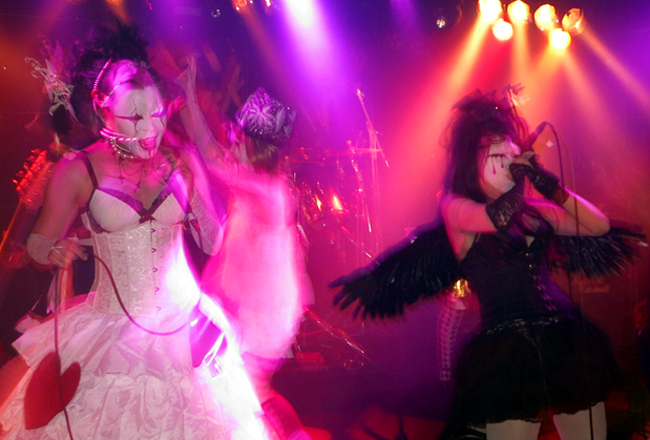 If I had to choose just one, this would probably the unmissable event for me each year: Zombie Lolita's founder/leader's birthday celebration show at Shinjuku Anti-Knock, Live House