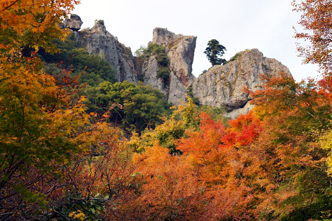 Kankakei Gorge, Shodoshima Photo: 633highland