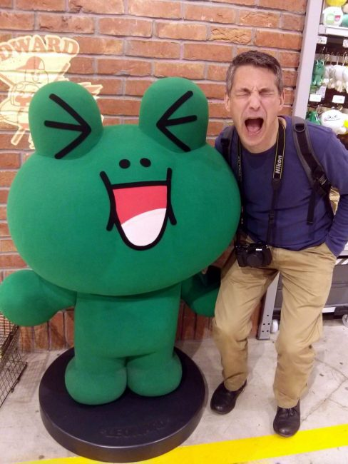 LINE friends store The Real Japan Rob Dyer
