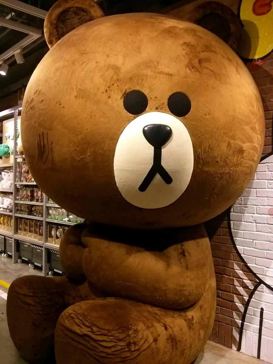 LINE Friends Stores Are Awesome!