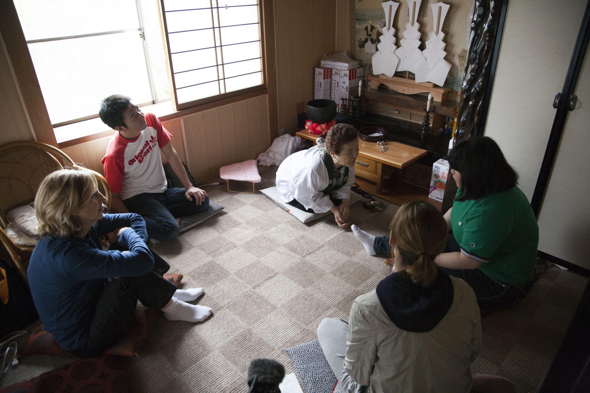 Meeting an Itako - Nakamura-san