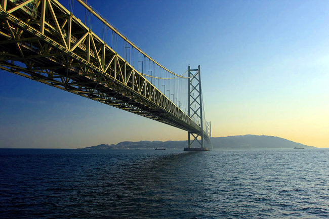 Exploring The World's Longest Suspension Bridge – Akashi Kaikyo