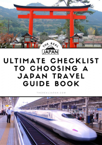 TRJ Ultimate Checklist To Choosing A Japan Travel Guide Book