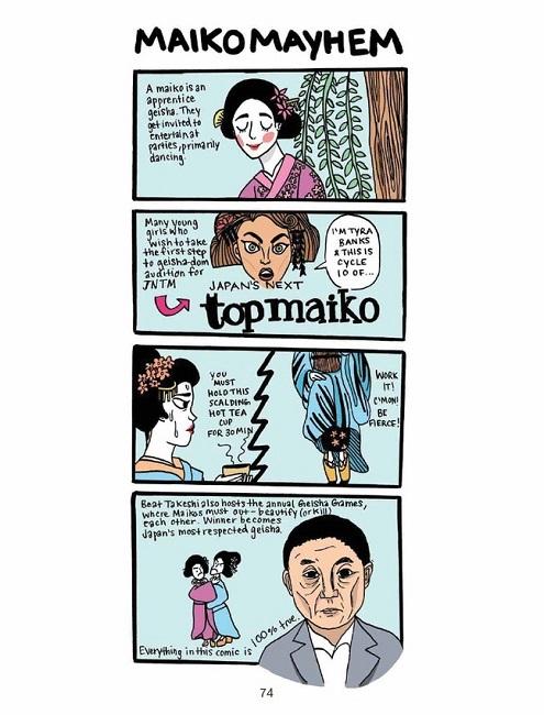 Diary Tokyo Teen Christine Mari Inzer Geisha Maiko