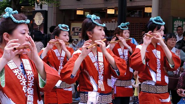 Suzume Odori Aoba Festival, Sendai