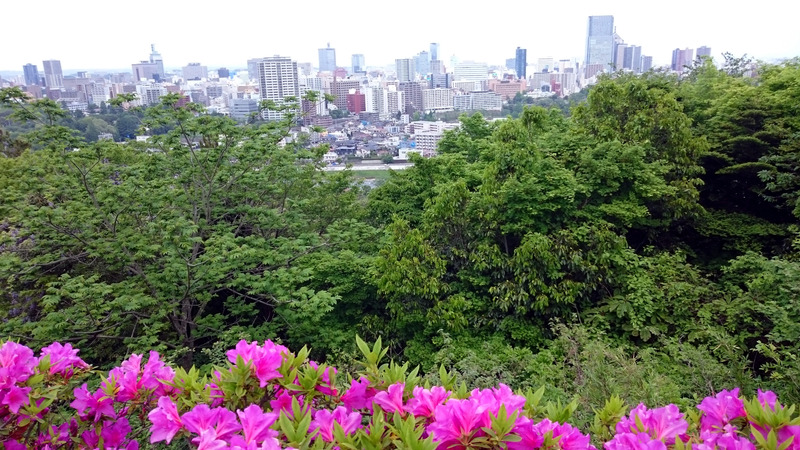 A Spring Day Exploring Sendai City