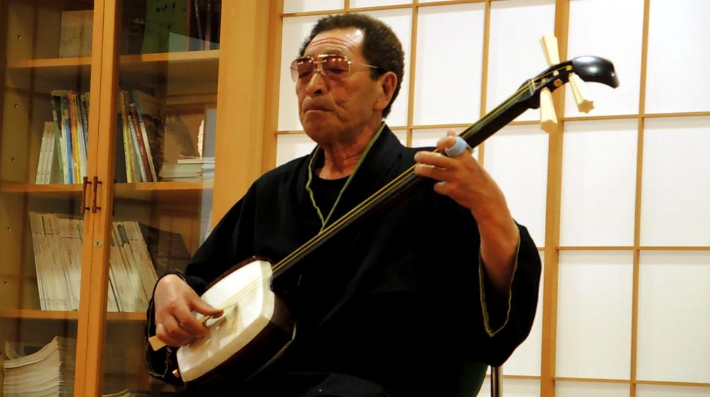 Tsugaru Shamisen Live Performance Asobenomori Iwakiso Ryokan, Aomori