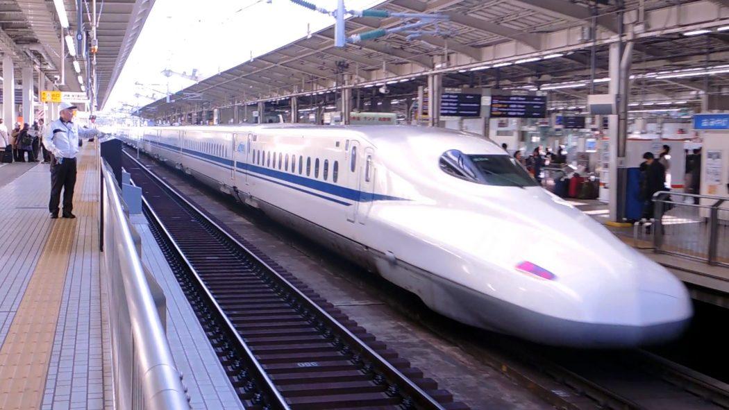 N700 Shinkansen at Shin-Osaka Station