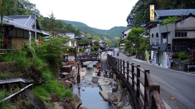 Yunomine Onsen village