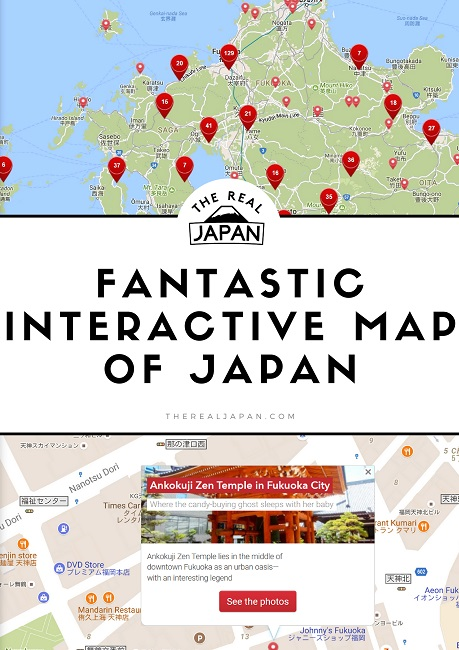 Japan Airlines interactive map The Real Japan Rob Dyer