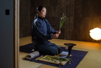 Kyoto Journal ikebana The Real Japan Rob Dyer