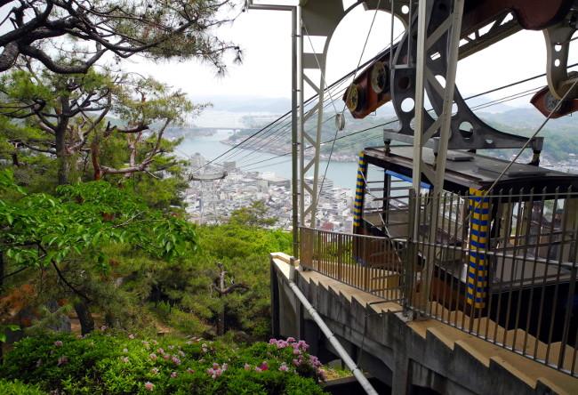 Senkoji Ropeway Cable Car, Onomichi City
