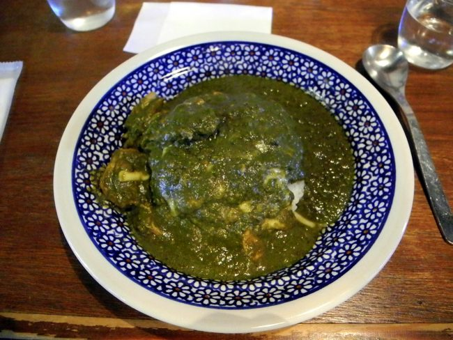 Chicken and Spinach Curry Nara The Real Japan Rob Dyer