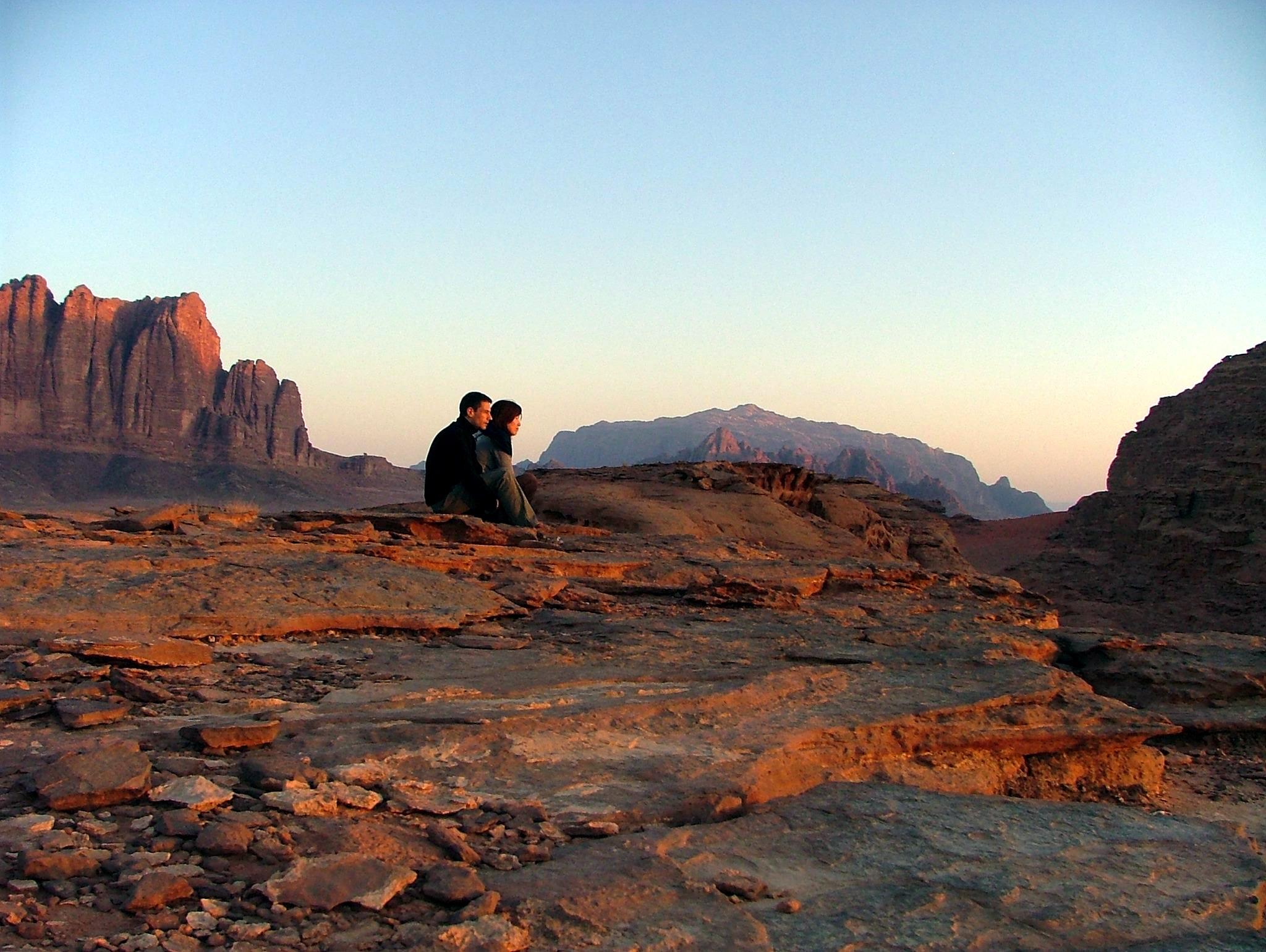 Sunrise in the Wadi Rum Jordan Rob Dyer The Real Japan