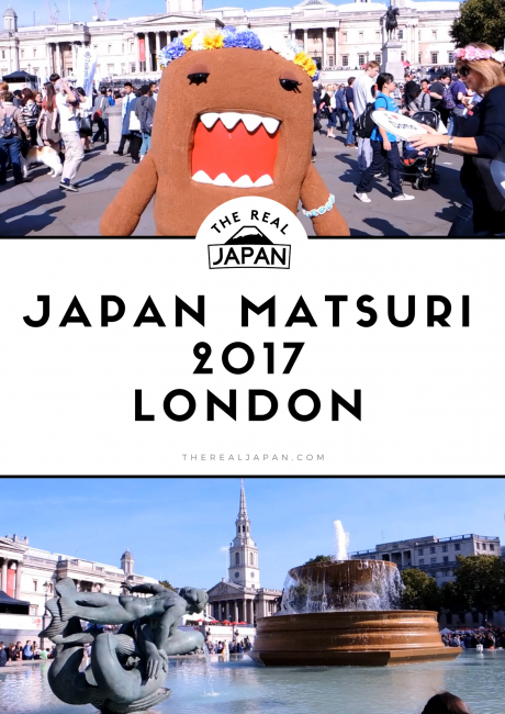 Japan Matsuri 2017 Trafalgar Square London The Real Japan Rob Dyer