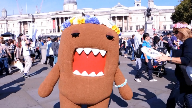 Japan Matsuri 2017, Trafalgar Square, Domo, The Real Japan, Rob Dyer