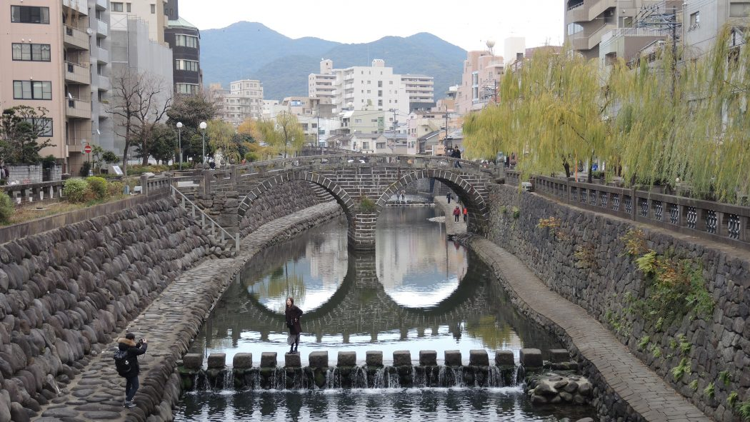 5 Days in Kyushu Nakashima River district, Nagasaki The Real Japan Rob Dyer