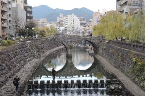 5 Days in Kyushu Nakashima River district, Nagasaki The Real Japan Rob Dyer