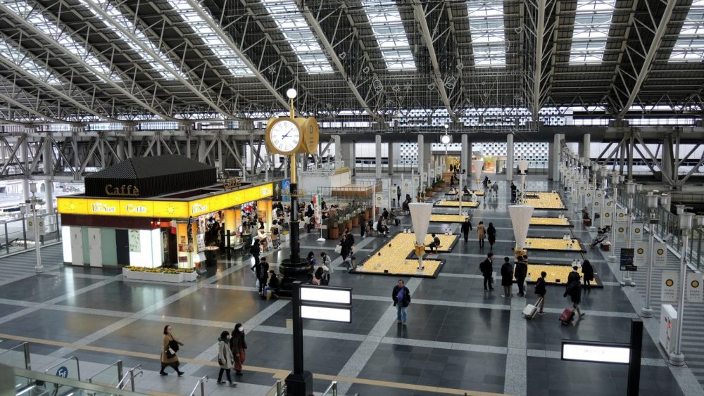 Osaka Station City plazas The Real Japan Rob Dyer