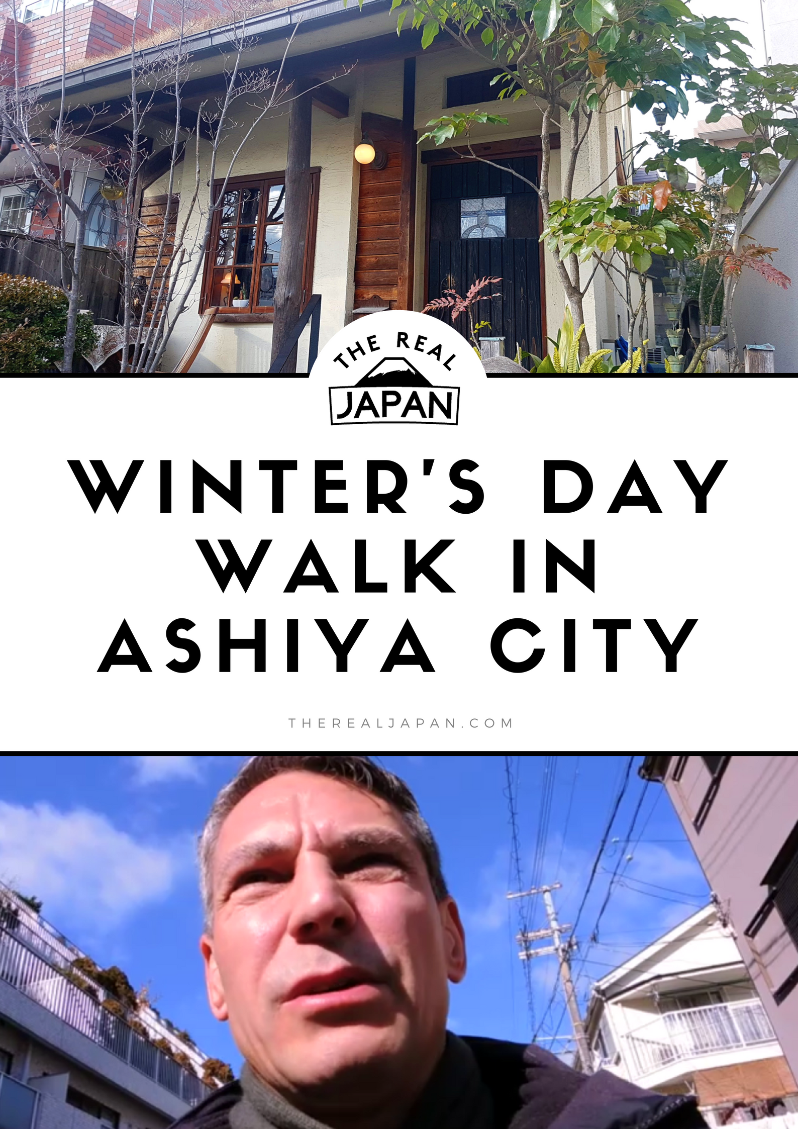 walk in Ashiya City video Rob Dyer The Real Japan