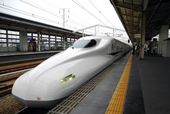 N700 Shinkansen The Real Japan Rob Dyer