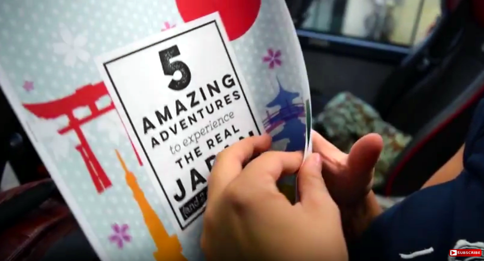 Subscribe 5 Amazing Adventures Guide The Real Japan Rob Dyer