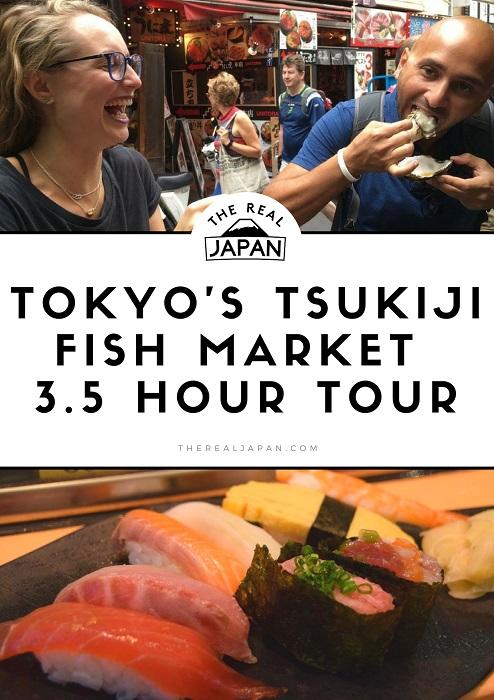 Tsukiji Fish Market Tour The Real Japan Rob Dyer
