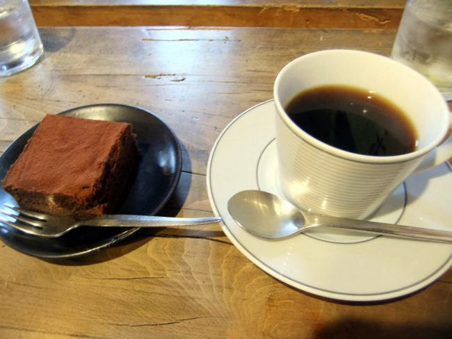 Coffee and cake Miriam Cafe The Real Japan Rob Dyer