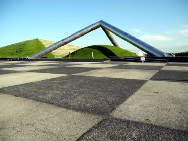 Tetra Mound in Moerenuma Park, Sapporo The Real Japan Rob Dyer
