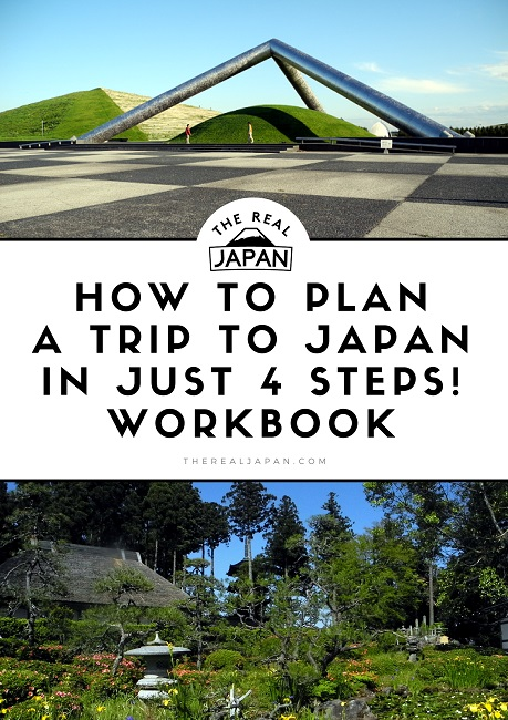 How to Plan A Trip to japan Workbook Rob Dyer The Real Japan