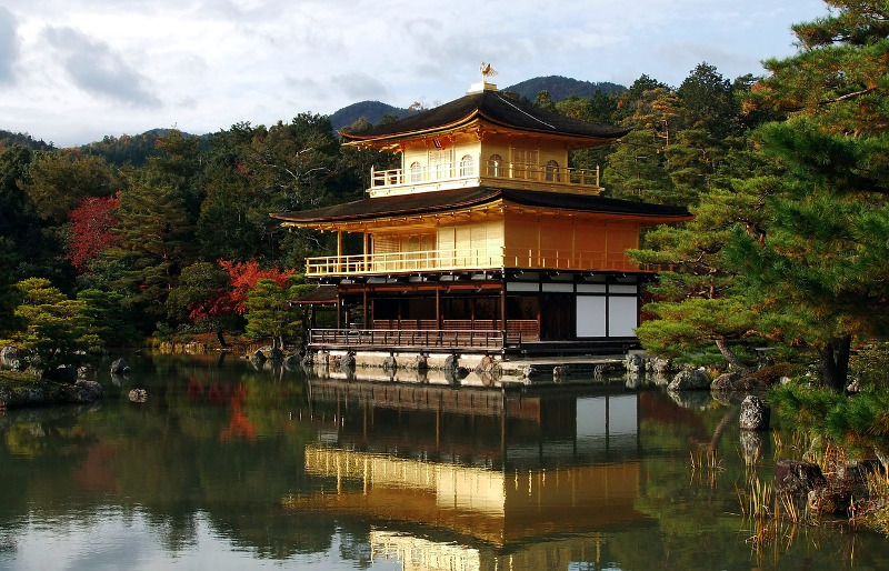 Kinkakuji Golden Pavilion Kyoto autumn The Real Japan Rob Dyer