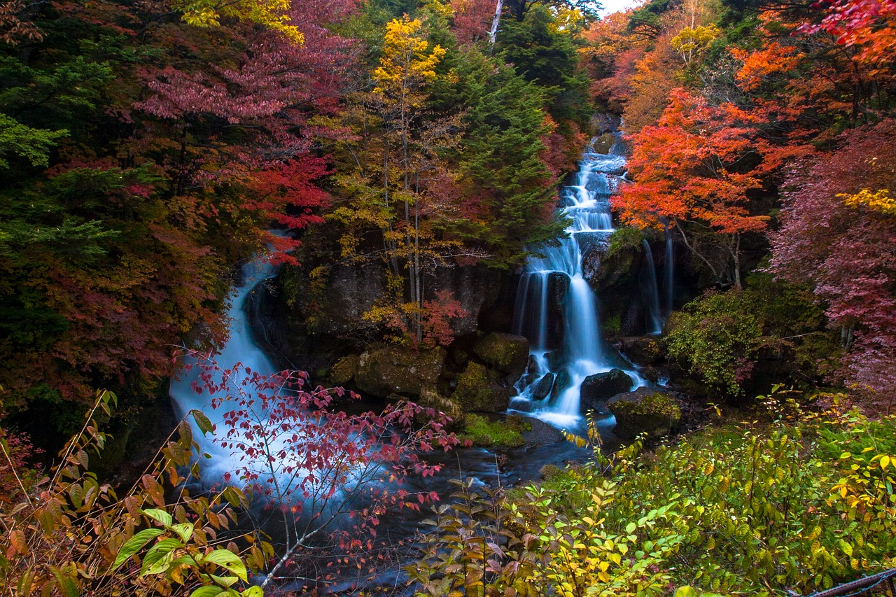 Ryuzu Waterfall, Nikko The Real Japan Rob Dyer