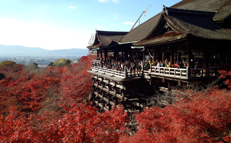 Kiyomizudera Kyoto autumn The Real Japan Rob Dyer