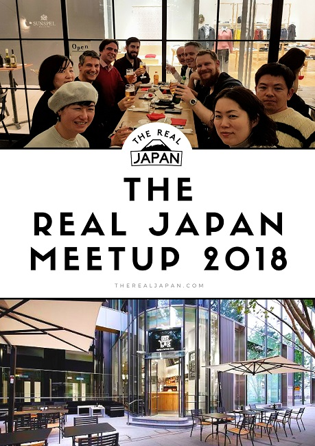 The Real Japan MeetUp 2018 Rob Dyer