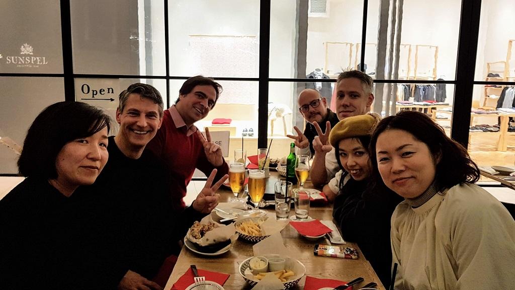 Guests at The Real Japan MeetUp 2018, Bib Bar, Osaka