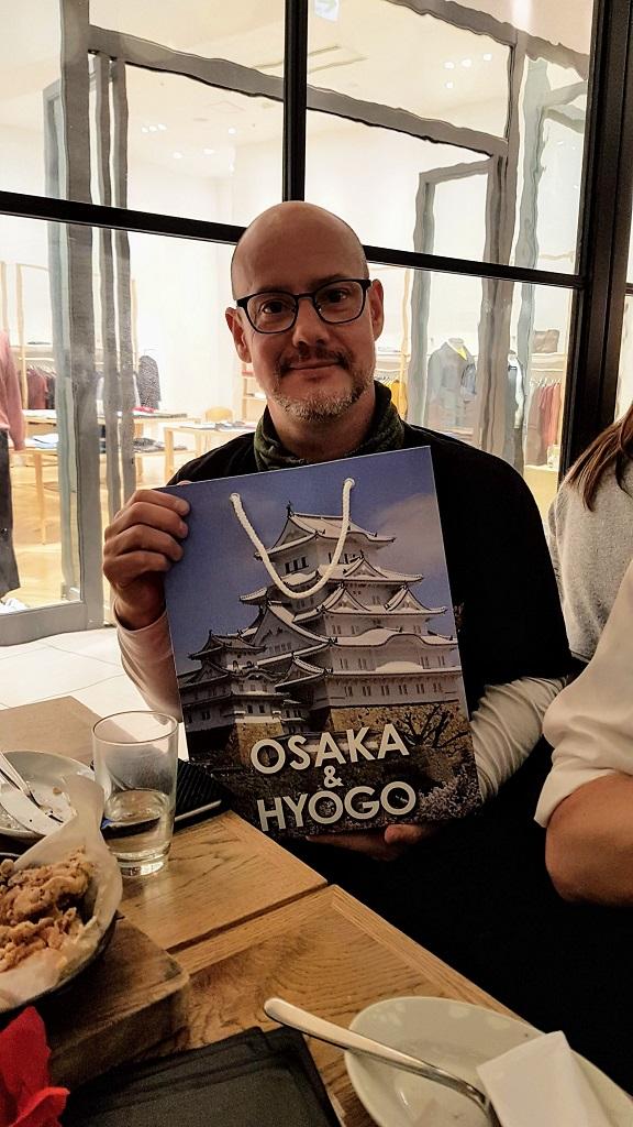 Peter from Chiba at The Real Japan MeetUp 2018, Bib Bar, Osaka