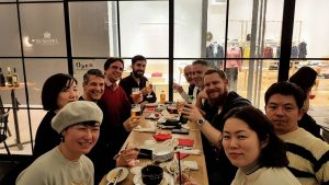Guests at The Real Japan MeetUp 2018, Bib Bar, Osaka