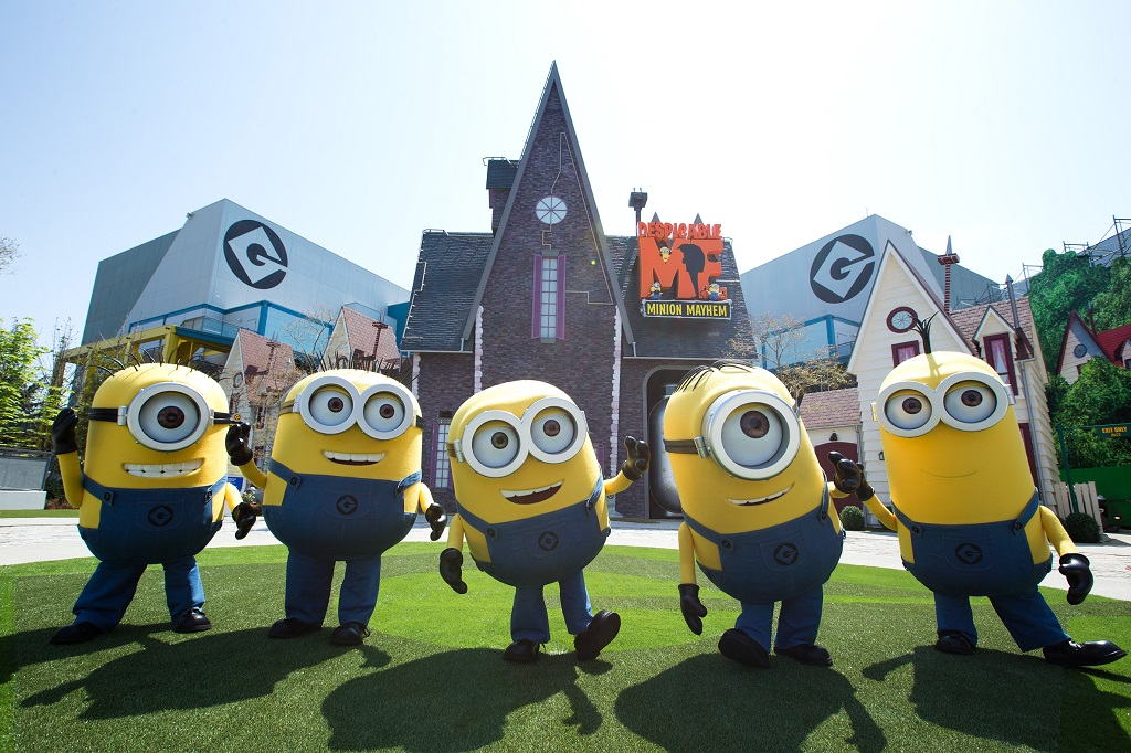 Universal Studios Japan USJ Minions Park The Real Japan Rob Dyer