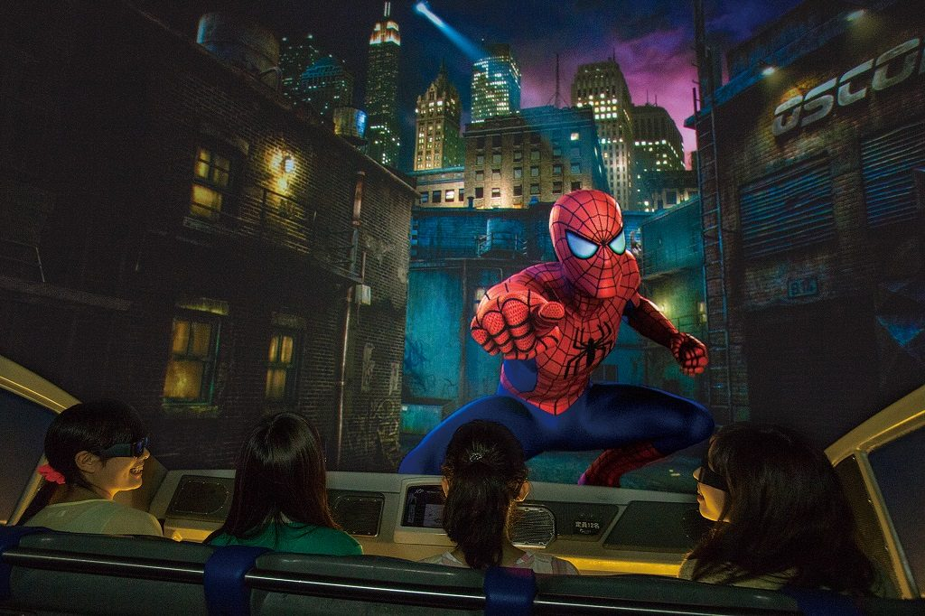 Universal Studios Japan USJ Amazing Adventures of Spiderman Spider-Man The Real Japan Rob Dyer