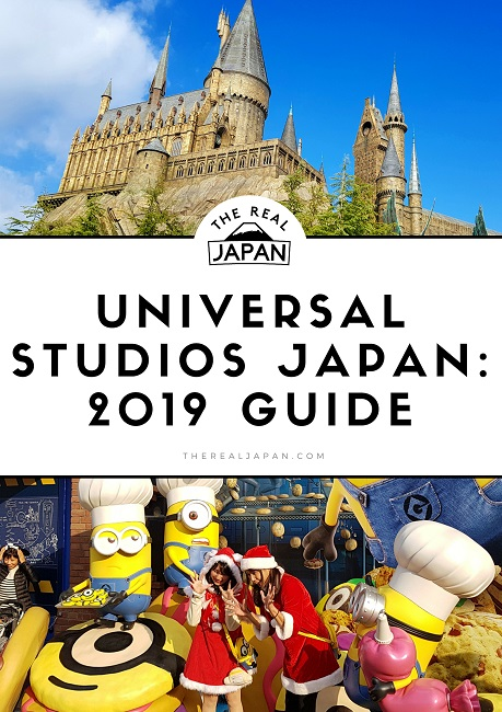 Universal Studios Japan USJ The Real Japan Rob Dyer