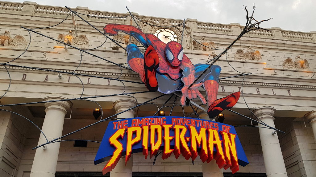 Spider-Man The Ride Universal Studios Japan USJ The Real Japan Rob Dyer