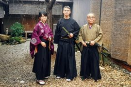 Samurai Juku Kyoto The Real Japan Rob Dyer