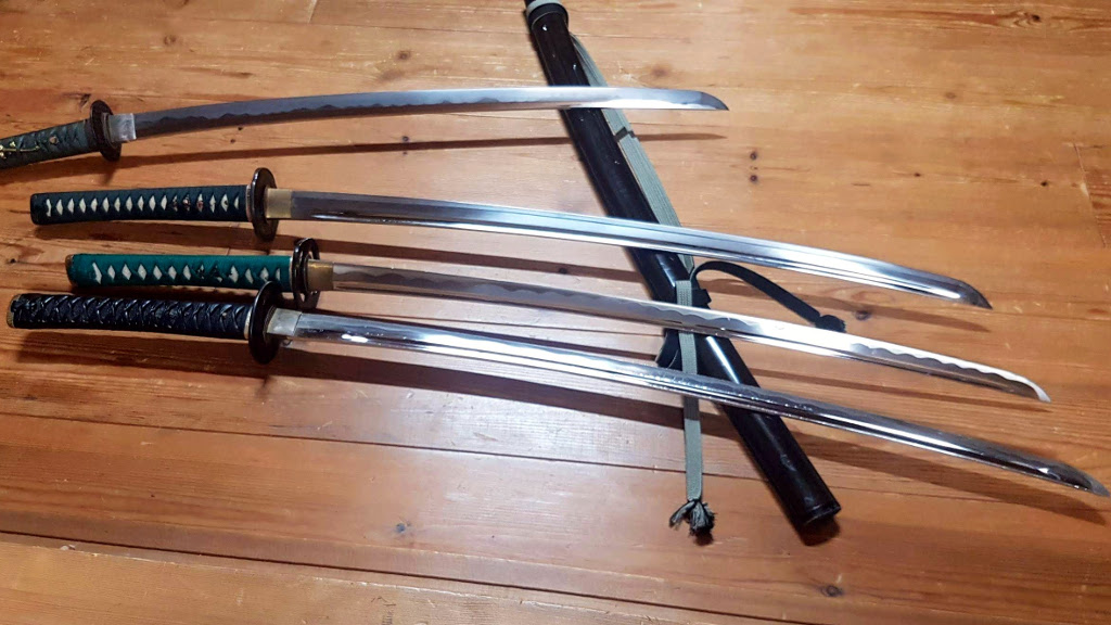 Samurai swords Samurai Juku Kyoto The Real Japan Rob Dyer