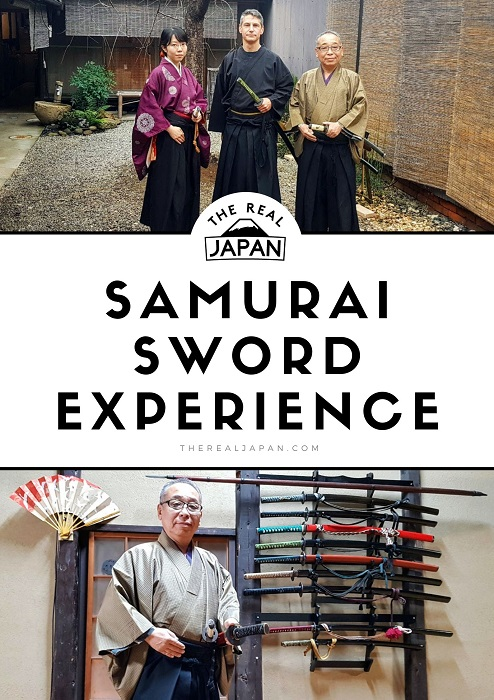 samurai sword experience Kyoto Samurai Juku The Real Japan Rob Dyer