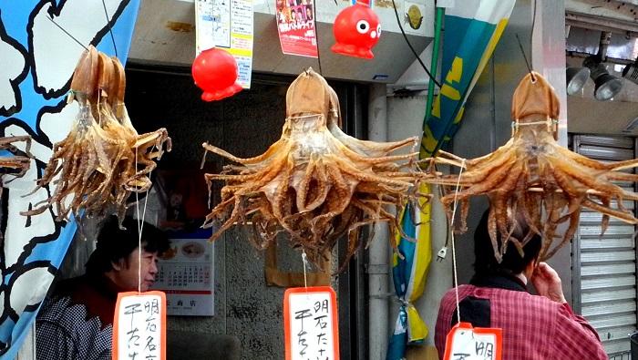 Unonotana Fish Market, Akashi The Real Japan Rob Dyer
