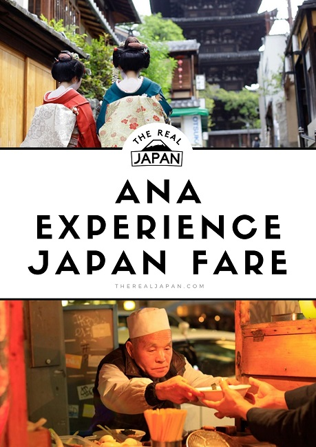 ANA Experience Japan Fare The Real Japan
