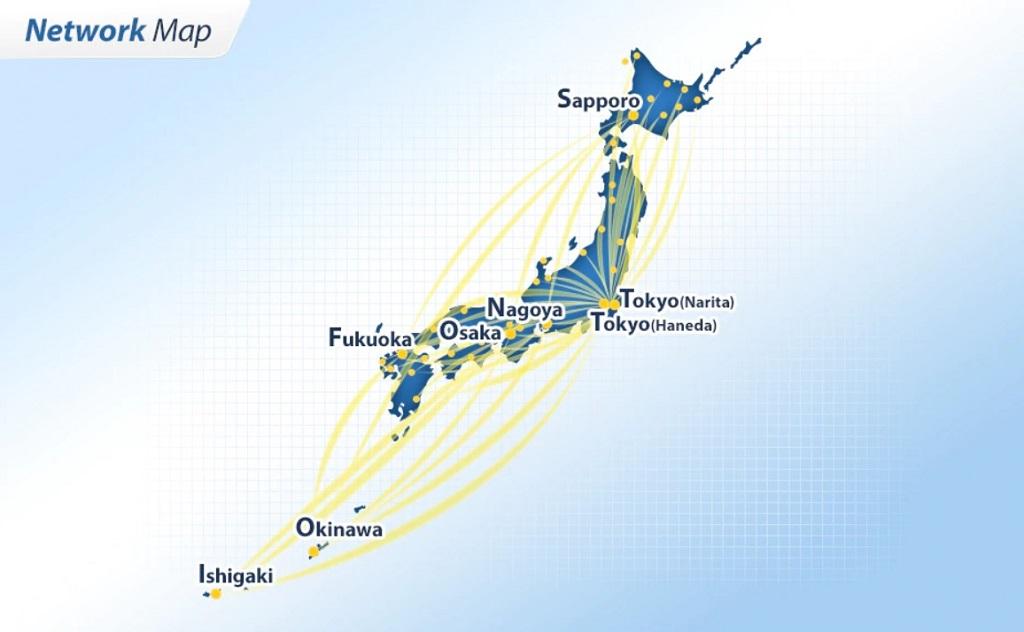 ANA Network Map